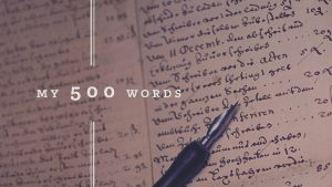 My 500 Words: The daily writing challenge by Jeff Goins